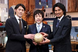 楢崎正剛&中澤佑二『FOOT×BRAIN』放送400回SPで「夢が叶った」
