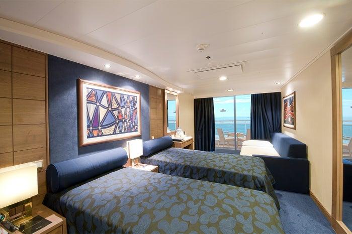 キャビンはラグジュアリーなホテルさながら/MSC Cruises S.A.