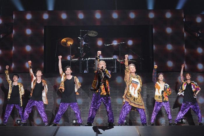 写真左から/KENZO、YORI、U-YEAH、ISSA、KIMI、DAICHI、TOMO(提供写真)