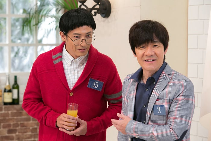 (左から)玉木宏、内村光良 (C)NHK