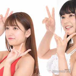 立花咲羽 、小島瑠奈(C)モデルプレス