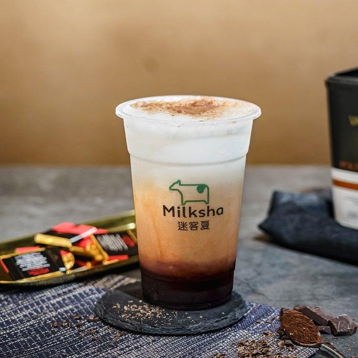 ヴァローナココアミルク ¥600/画像提供:MILKSHOP JAPAN株式会社