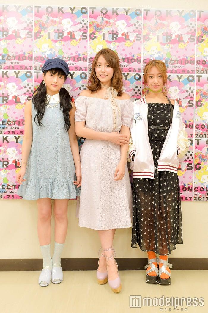 若月佑美、衛藤美彩、桜井玲香(C)モデルプレス