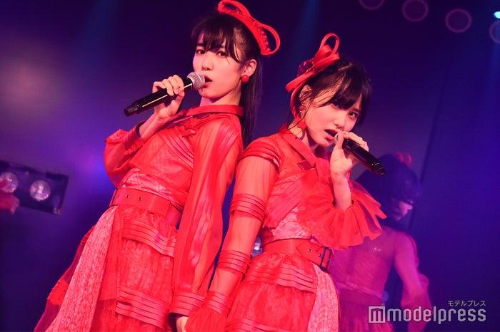 下尾みう、前田彩佳/AKB48岡部チームA「目撃者」公演(C)モデルプレス