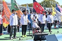選手宣誓/提供:日本財団パラリンピックサポートセンター