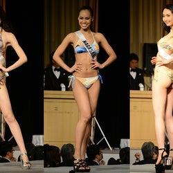 ミスユニ美女、ビキニ姿で美ボディ披露 会場釘付けのランウェイ<2015ミス・ユニバース・ジャパン>