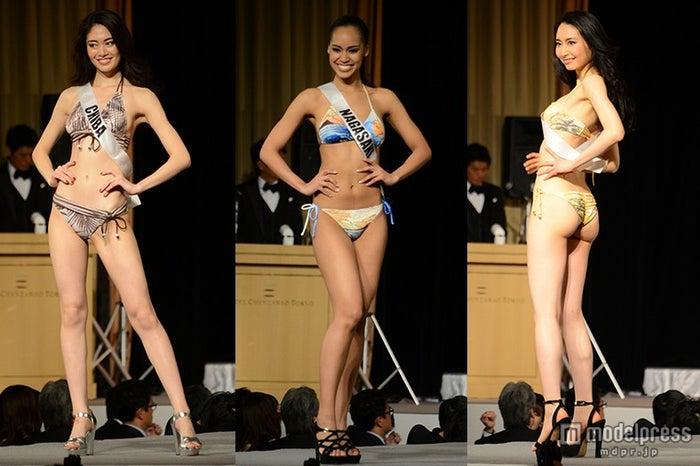 ミスユニ美女、ビキニ姿で美ボディ披露 会場釘付けのランウェイ<2015ミス・ユニバース・ジャパン>【モデルプレス】