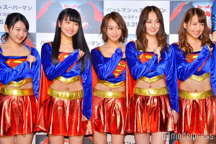 SUPER☆GiRLS(C)モデルプレス