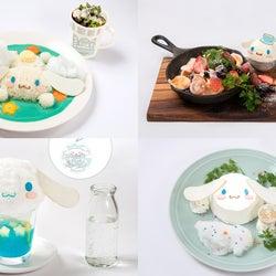 「シナモロールカフェ」大阪にOPEN ふわふわ綿あめソーダなどキュートな世界観