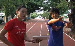 元祖美人アスリート井村久美子が走り幅跳のユース女王に本気指導