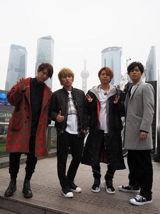 NEWS、海外のファンに感謝 上海人気スポット巡る
