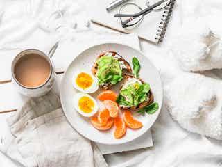 代謝のいいカラダを目指す!5分で食べられる高タンパクな朝ごはん