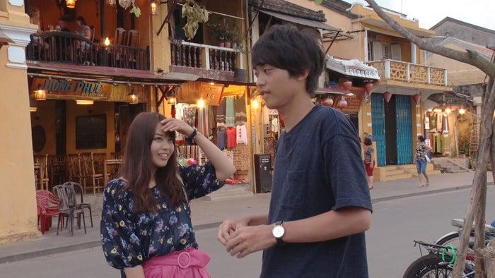 ゆめちん、たか/「あいのり:Asian Journey」第2話より(C)フジテレビ
