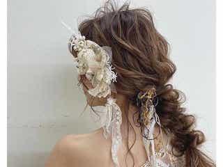 レトロでクラシカルなウェディングヘア*ワンランク上のイマドキ花嫁になれるアレンジをご紹介