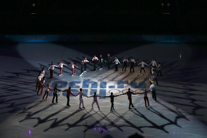 ソチ2014冬季オリンピック エキシビションの様子(C)2014 / International Olympic Committee (IOC) / GRAYTHEN, Chris - All rights reserved