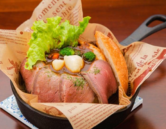 丸ごとパンのローストビーフシチュー/画像提供:株式会社 横浜赤レンガ