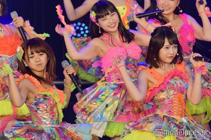 磯佳奈江、植村梓/NMB48「TOKYO IDOL FESTIVAL 2018」(C)モデルプレス