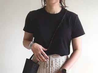 コーデに迷わない!夏→秋の季節の変わり目は黒Tシャツで乗り切ろう