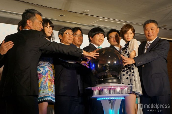「Family Mart ASIA COLLECTION BIG STAGE」記者会見の様子