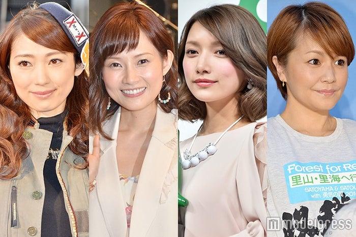 (左から)飯田圭織、安倍なつみ、後藤真希、中澤裕子(C)モデルプレス