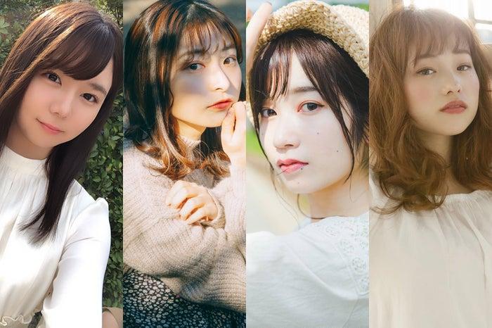 「美少女図鑑×モデルプレス 原石プロジェクト」アプリ投票暫定上位者を発表