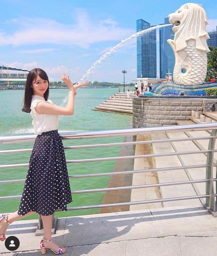シンガポールといえば定番のマーライオン!/高木絢子さん(提供画像)