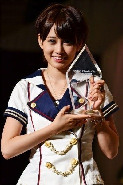 前田敦子(AKB48 22ndシングル 選抜総選挙より)