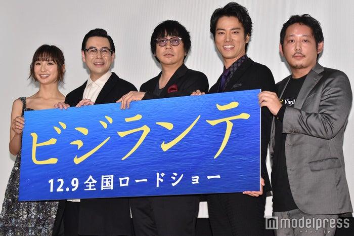 篠田麻里子、鈴木浩介、大森南朋、桐谷健太、入江悠監督 (C)モデルプレス