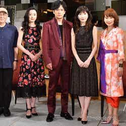 (左から)鈴木聡氏、中島亜梨沙、稲垣吾郎、安寿ミラ、北村岳子(C)モデルプレス