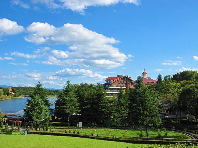 那須りんどう湖レイクビュー景観(提供画像)<br> <br>