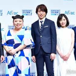 西島秀俊、渡辺直美、櫻井翔、松岡茉優、徳光和夫(C)モデルプレス
