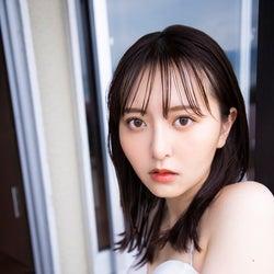 「HKT48  森保まどかラストフォトブック スコア」(C)KADOKAWA (C)Mercury   PHOTO/TANAKA TOMOHISA