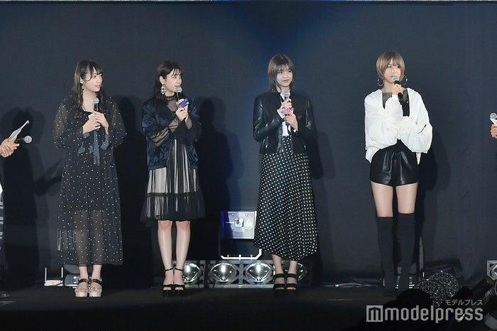 渡辺梨加、小林由依、渡邉理佐、土生瑞穂 (C)モデルプレス