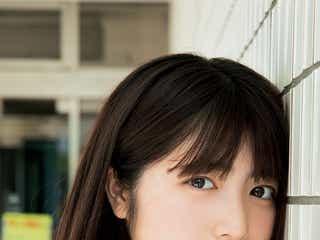 吉田莉桜、可憐な制服姿に釘付け