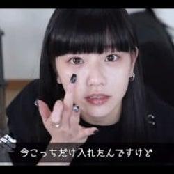 """Hinaが""""ギャルメイク""""初披露!メイク前の貴重なすっぴん姿も「最強にかわいい」"""