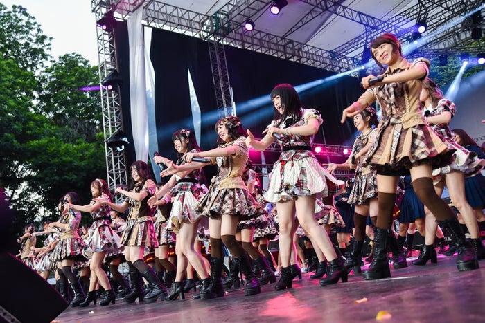 イベントの様子(C)AKS/(C)JKT48 Project