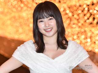 桜井日奈子、胸元ザックリドレスで登場「スリルがありました」
