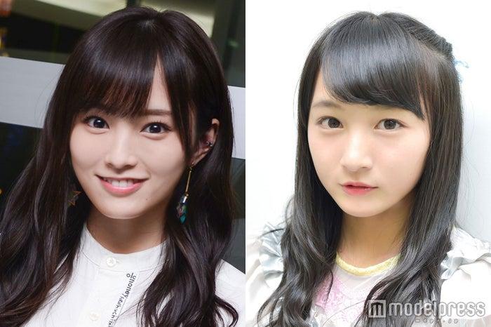 山本彩(左)、山本彩加(右) (C)モデルプレス