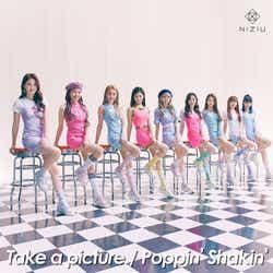 NiziU/2nd Single「Take a picture/Poppin' Shakin'」初回生産限定A盤(提供写真)