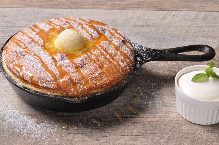 釜だしパンケーキ/画像提供:サンパーク