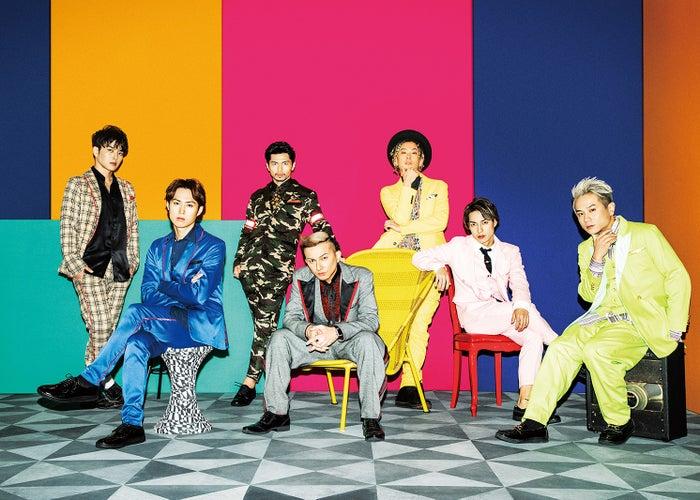 DA PUMP/左から:KENZO、YORI、U-YEAH、ISSA、TOMO、DAICHI、KIMI(提供画像)