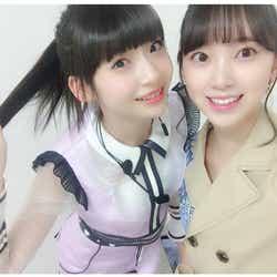 モデルプレス - 乃木坂46堀未央奈&NGT48荻野由佳の仲良し2ショットに「天使が2人」「微笑ましい」と反響