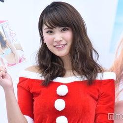 久松郁実、SEXYサンタ姿でキュートなおねだり クリスマスの予定は?
