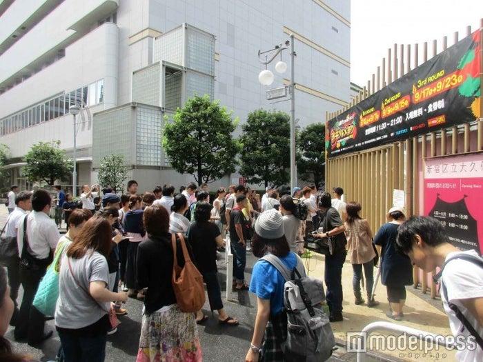 混雑する入場ゲート/画像提供:激辛グルメ祭り実行委員会