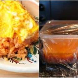 フライパン不使用!絶品オムライスをレンジで作る方法【つくおき食堂まりえ】