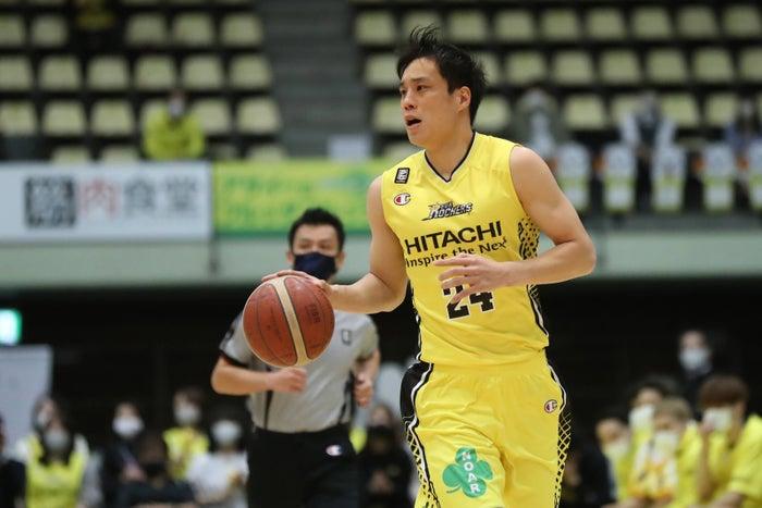広瀬健太選手 (C)SUNROCKERS SHIBUYA