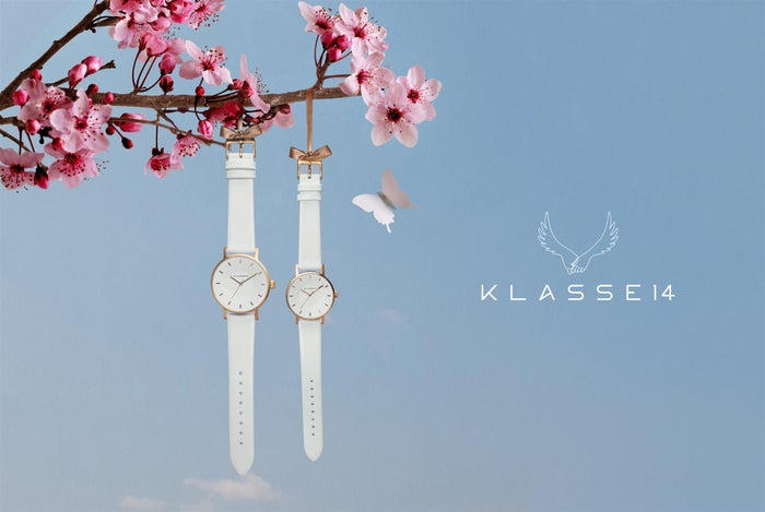 「KLASSE14で手元に春を忍ばせて