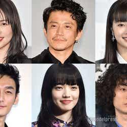 (左上から時計回りに)長澤まさみ、小栗旬、広瀬すず、菅田将暉、小松菜奈、草なぎ剛(C)モデルプレス
