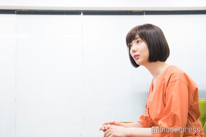 山崎夕貴アナウンサー(C)モデルプレス