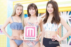 小林レイミ、坂本くるみ、福良真莉果 (C)モデルプレス